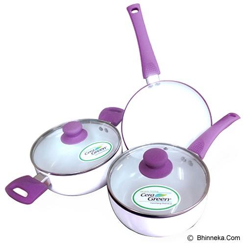 OXONE Aluminium Cookware Set [OX-83] - Panci Set